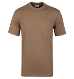 Filson Tan Cotton Crew Neck T-Shirt