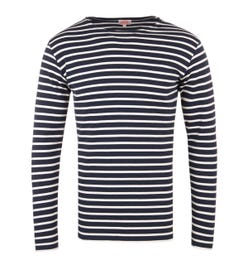 Armor Lux Mariniere Heritage Navy Stripe Long Sleeve T-Shirt