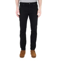 Diesel Larkee Beex Black Tapered Jeans