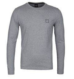 BOSS Tacks Grey Long Sleeve T-Shirt