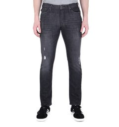 Emporio Armani Black Denim Wash J06 Slim Fit Jeans