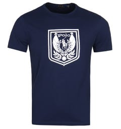 Polo Ralph Lauren Custom Slim Fit Polo Cup Navy T-Shirt