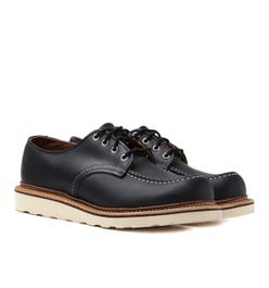 Red Wing 8106 Black Chrome Heritage Work Classic Oxford Shoes