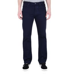 Emporio Armani J21 Blue Tonal Stitch Regular Fit Jeans