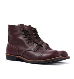 "Red Wing 8119 Oxblood Mesa Heritage 6"" Iron Ranger Boots"