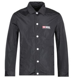 Diesel Denim Division Black Coach Jacket
