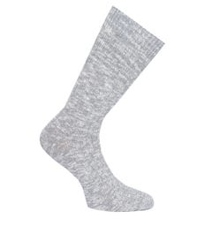 Birkenstock Tonal Grey Cotton Slub Socks
