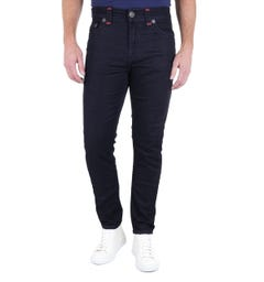 True Religion Jack Slim Tapered Super T Indigo denim Jeans