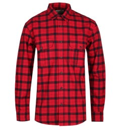 Filson Alaskan Guide Red & Black Check Shirt