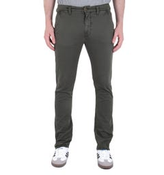 Nudie Jeans Co Slim Adam Khaki Trousers