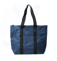 Rains Navy Rush Tote Bag