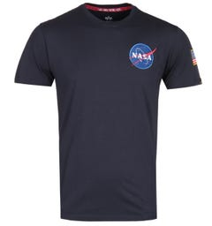 Alpha Industries Midnight Navy Space Shuttle T-Shirt