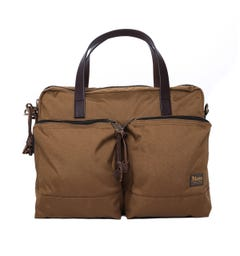 Filson Dryden Whiskey Brown Briefcase