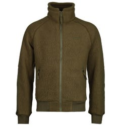 Filson Sherpa Olive Fleece Jacket
