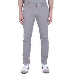 BOSS Casual Slim Fit Stone Grey Rice3-D Chinos