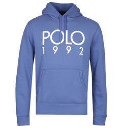 Polo Ralph Lauren Magic Fleece Overhead Ocean Blue Hoodie