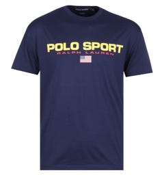 Polo Sport Navy Logo T-Shirt