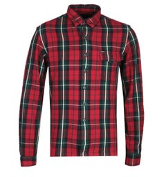 Polo Ralph Lauren Classic Fit Long Sleeve Red Checked Shirt