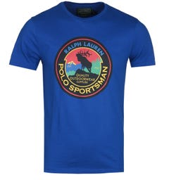 Polo Ralph Lauren Electric Blue Puck T-Shirt