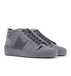 Android Homme Propulsion Mid Grey Stingray Suede Trainers