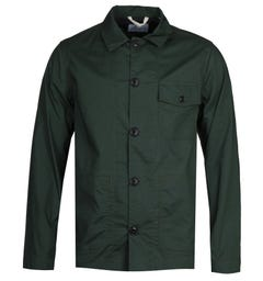 Albam Ripstop Forest Green Lightweight Rail Jacket