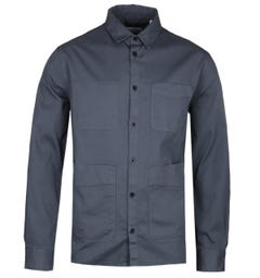 Albam Steel Blue Work Shirt