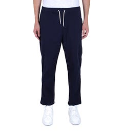 Albam Trent Navy Drawstring Trousers