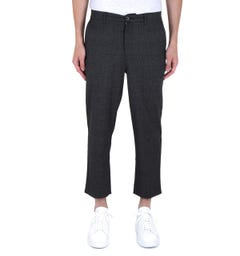 Farah Hawtin Prince Of Wales Check Grey Trousers
