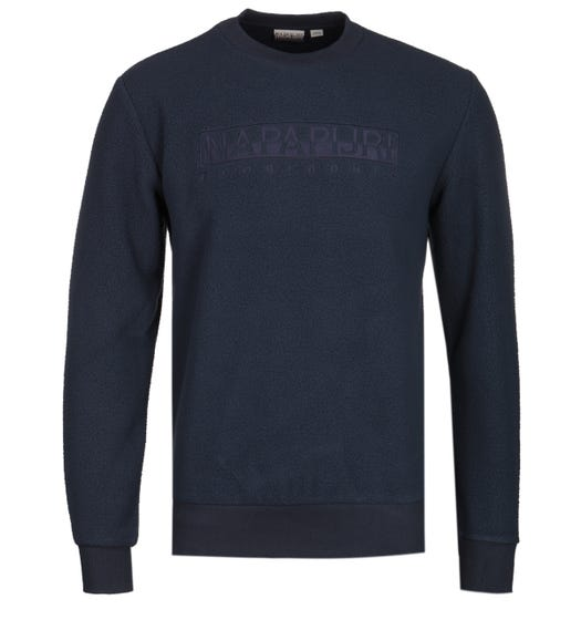 Napapijri Tonghe Crew Neck Navy Fleece Sweater