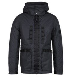 CP Company Millie Micro-M Black Goggle Jacket