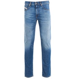 Diesel D-Strukt Light Blue Slim Fit Jeans