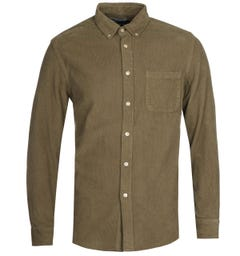 Portuguese Flannel Lobo Olive Shirt