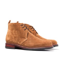 Grenson Wendell Snuff Suede Chukka Boots