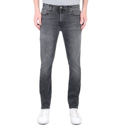 Nudie Jeans Co Lean Dean Slim Fit Monogrey Denim Jeans