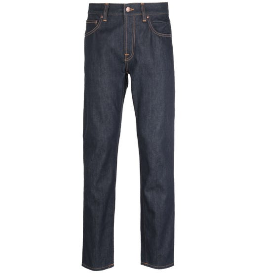 Nudie Jeans Co Gritty Jackson Medium Blue Jeans