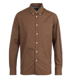 Uniform Bridge All Weather Relax Cotton Brown Shirt