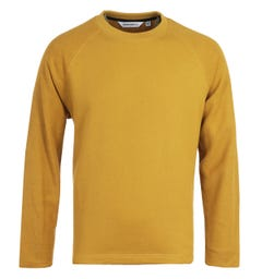 Uniform Bridge Reverse Mustard Sweatshirt