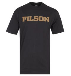 Filson Outfitter Short Sleeve Black Graphic T-Shirt