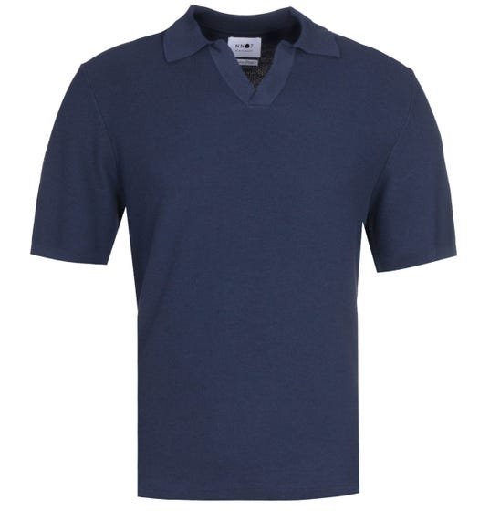 NN07 6390 Ryan Relaxed Fit Navy Polo Shirt