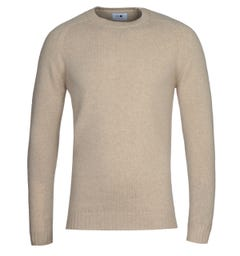 NN07 Nathan 6212 Light Camel Wool Sweater