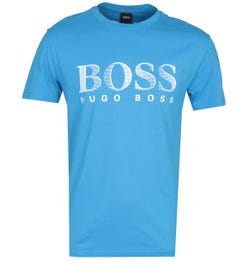 BOSS Bodywear RN UV-Protection Bright Blue T-Shirt