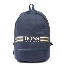 BOSS Pixel Navy Backpack
