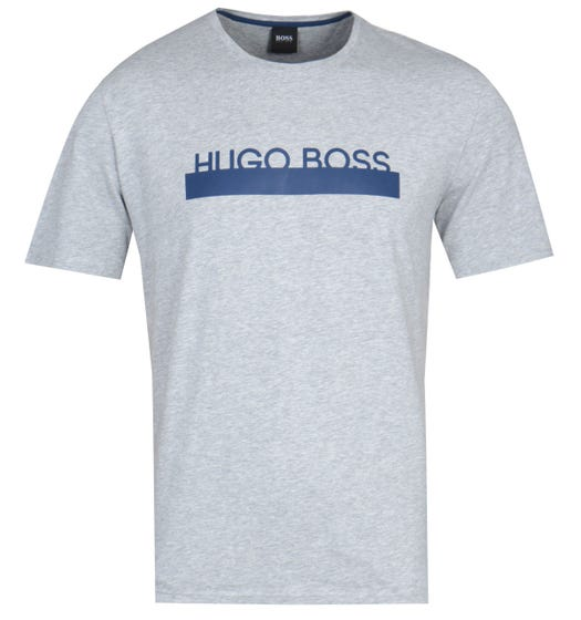 BOSS Bodywear RN Identity Light Grey Marl Pyjama T-Shirt