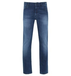 Boss Maine Dark Wash Navy Denim Jeans