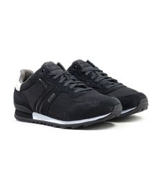 BOSS Parkour Runn Black Trainers