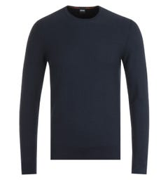 BOSS Komallo Navy Sweater