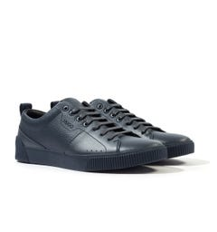 HUGO Navy Tennis Trainers