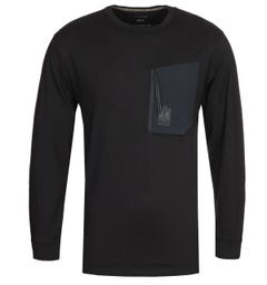 Maharishi Tech Pocket Organic Long Sleeve T-shirt
