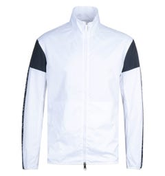 Armani Exchange Blouson Logo White Jacket