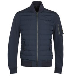 Belstaff Mantle Navy Bomber Jacket